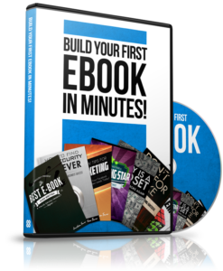 Learn how to create your first ebook