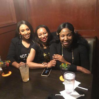 Lee Caldwell Austin Texas with Kirshana Sykes and Esther Angel Nyamekye