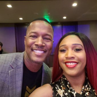 Flex Alexander with Financial Education Services Lee Caldwell